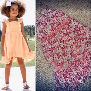 RALPH LAUREN Kids' Floral Sundress Lined